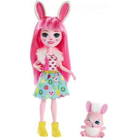 Enchantimals Bree Bunny Doll with Twist Bunny Friend (Porcelain Bunny Doll)