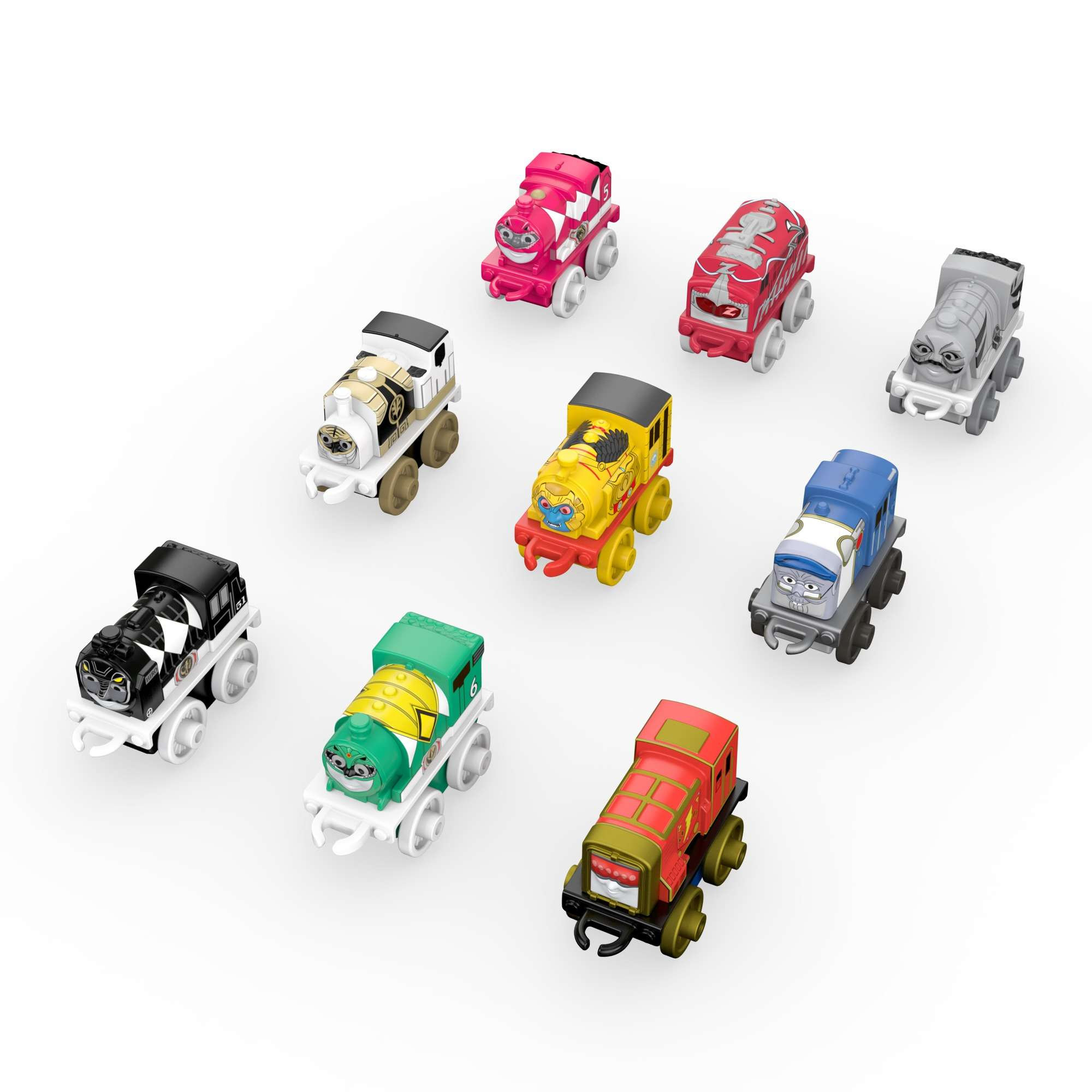 Thomas & Friends MINIS 9-Pack, Power Rangers