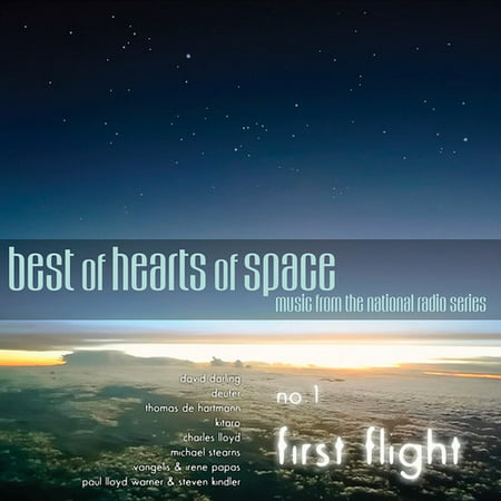 BEST OF HEARTS OF SPACE: NO. 1 - FIRST FLIGHT / VA - Best of Hearts of Space: No. 1 - First Flight / Va - Vinyl (Limited Edition) Heart Limited Edition