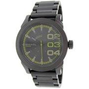 Men's Double Down DZ1678 Black Stainless-Steel Quartz Watch