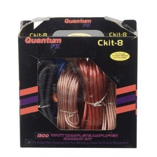 Quantum Fx Ckit8 Car Kit 8Gauge Amplifier Installation Kit