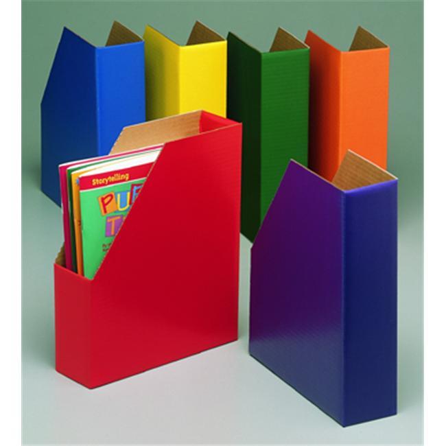 Edupress HS-24719 Magazine Files One Each Green Blue Orange Purple Red And Yellow
