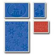 Sizzix Textured Impressions Embossing Folders, Christmas