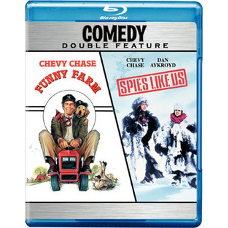 Funny Farm / Spies Like Us (Blu-ray) - Ray Of Light Farm Halloween