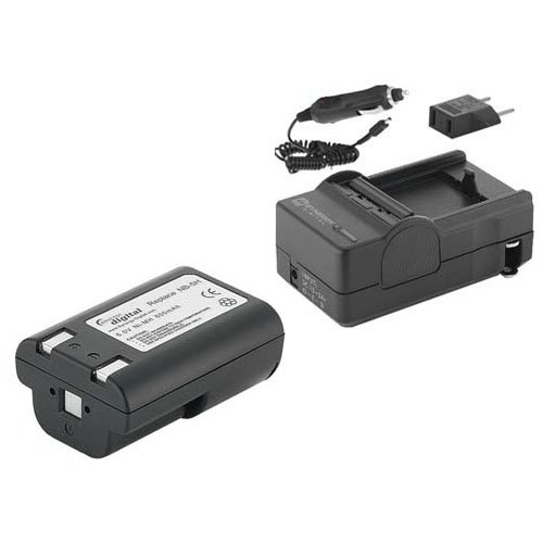 Canon Powershot S10 Digital Camera Accessory Kit includes: SDNB5H Battery, SDM-803 Charger