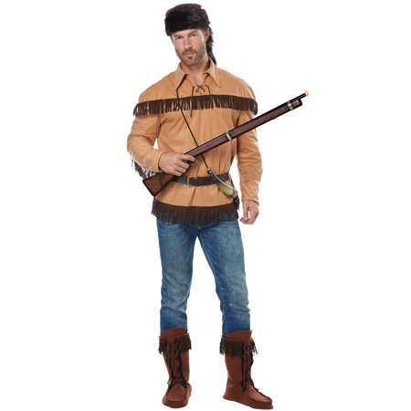 Frontier Man/Davy Crockett Adult Costume - Davy Crocket Costume