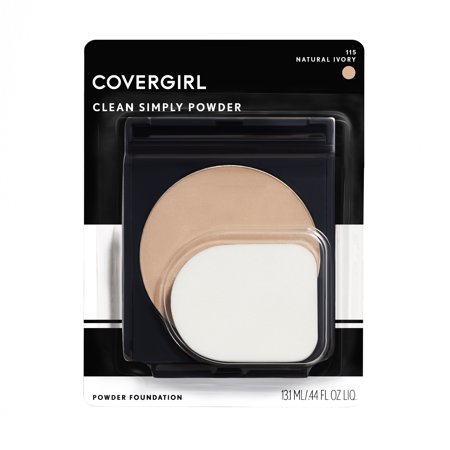 COVERGIRL Clean Simply Powder Foundation, 515 Natural
