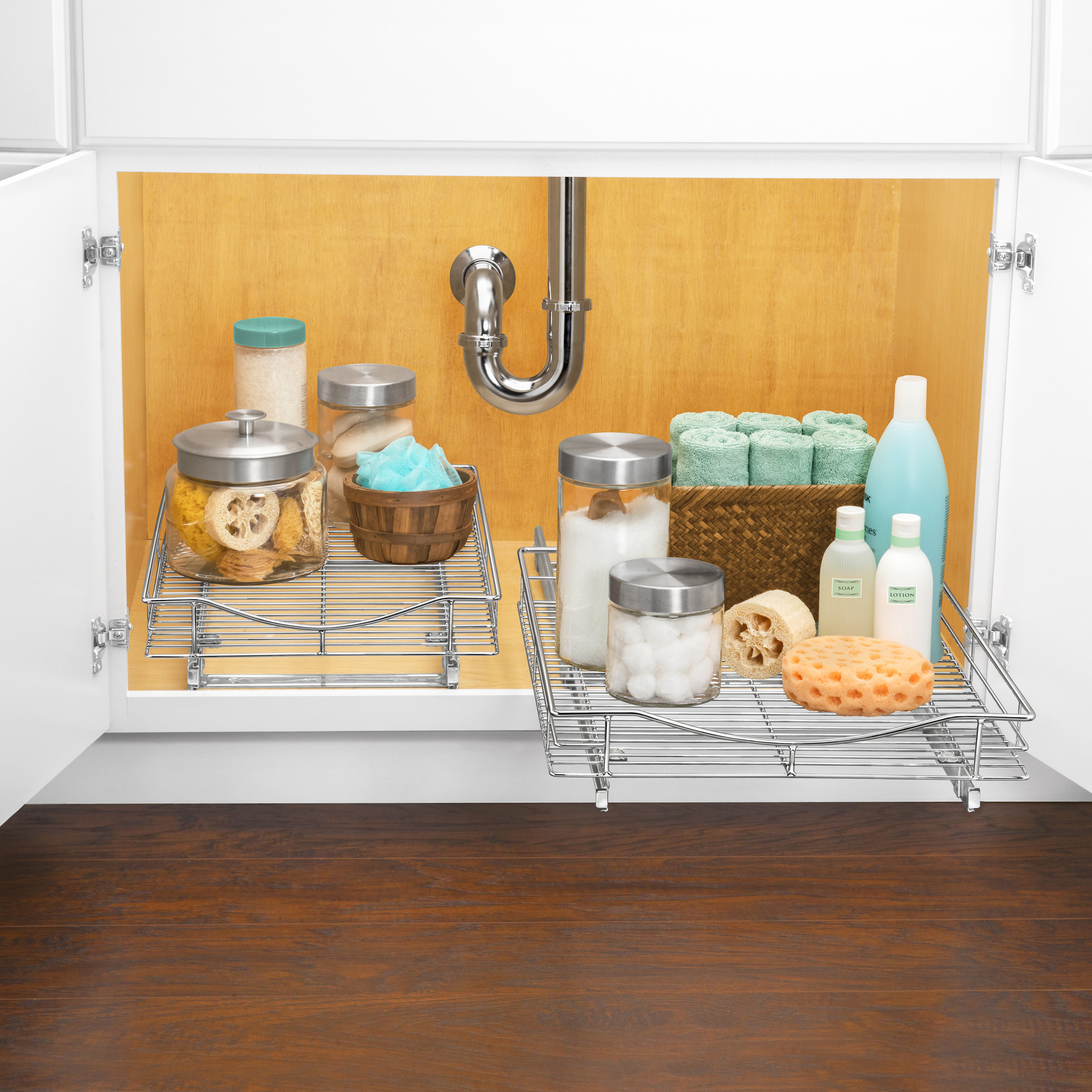 under slide pull cabinet d organizer professional w sliding ip shelf walmart chrome lynk com out x