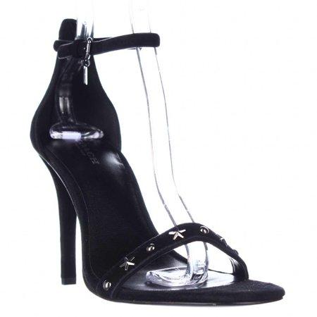 f8b37bd121b8 Coach - Womens Coach Melrose Ankle Strap Star Studded Sandals - Black -  Walmart.com