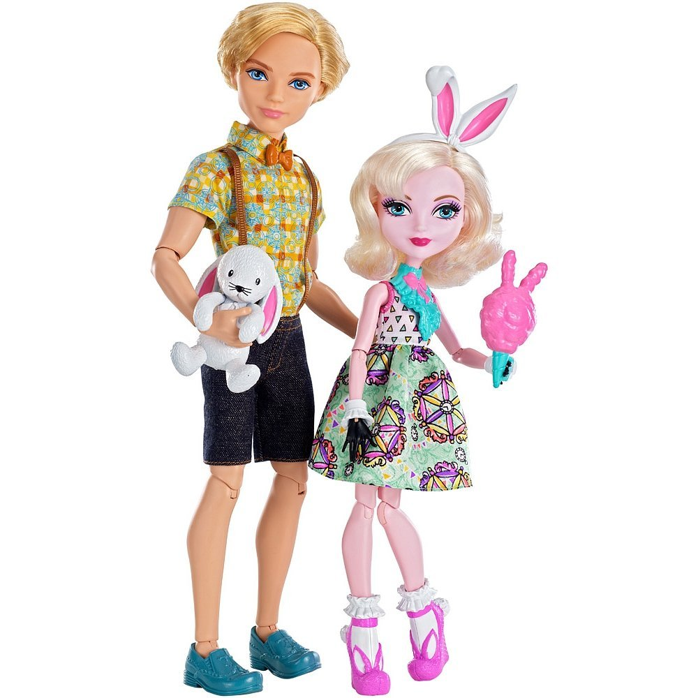 Ever After High Carnival Date Doll 2-Pack Bunny Blanc and Alistair Wonderland..., By... by