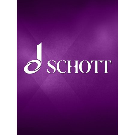 Schott Symphony in B Flat Major for Concert Band (First Alto Saxophone Part) Schott Series by Paul