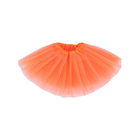 Baby Classic Tulle Tutu Skirts Dance Cosplay Dress, Orange - Baby Cosplay Ideas