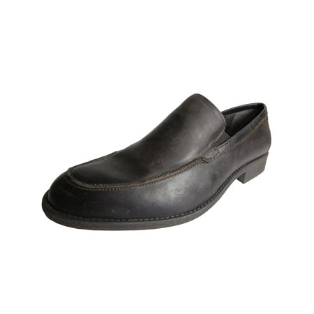 Mens Wilder Distressed Slip On Casual Loafer Shoe