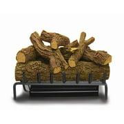 "30"" Elite Gemini ST LP 5 Burner w/ Red Oak Logs & Valve Kit"