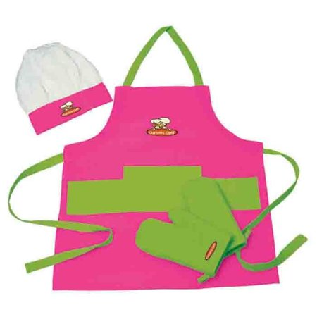 Curious Chef 4-Piece Child Chef Textile Set