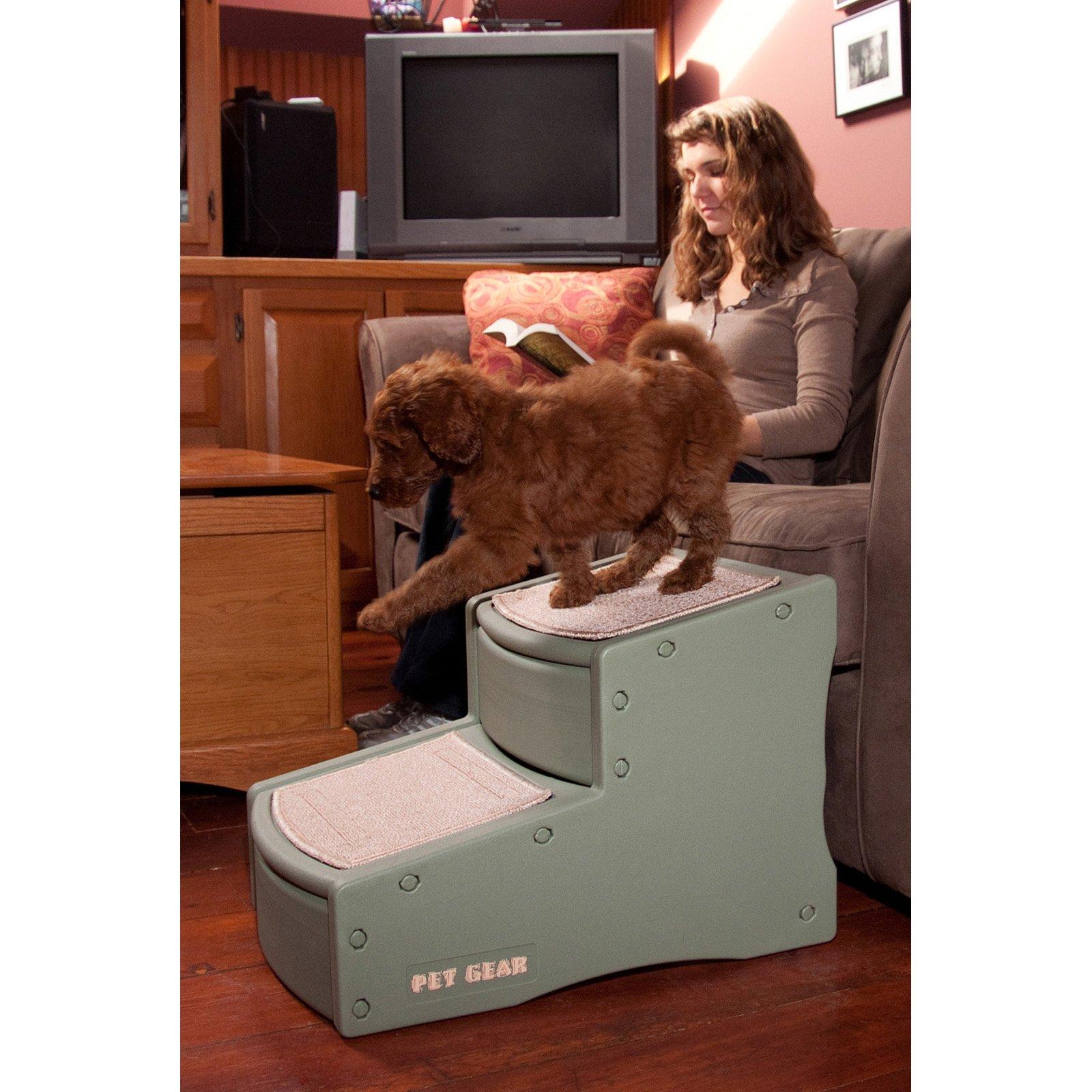 Pet Gear Easy Step II Pet Stair, Sage
