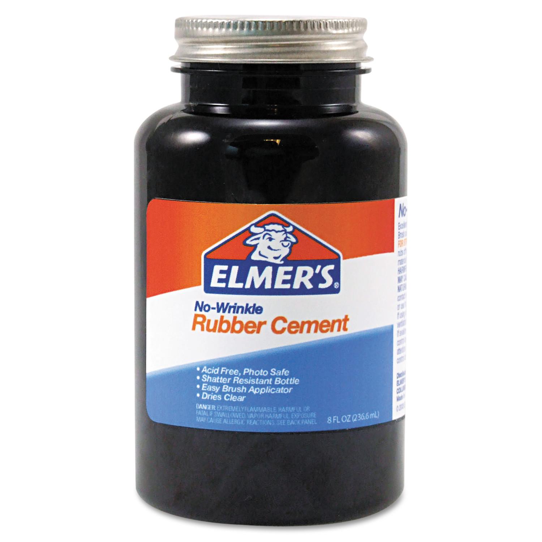 Elmer's Rubber Cement, Repositionable, 8 oz -EPI231