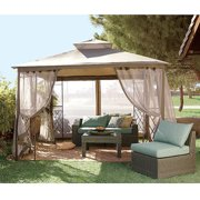 Garden Winds Replacement Canopy Top for JCP Bamboo Gazebo - Riplock 350