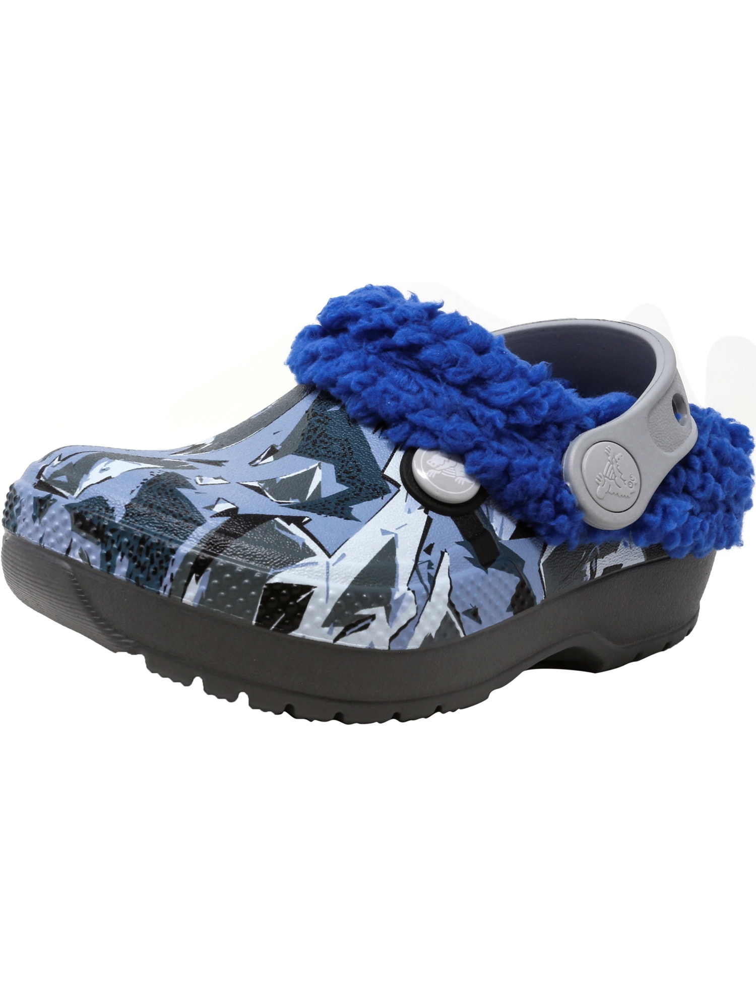 Crocs Classic Blitzen Iii Graphic Slate Grey   Blue Jean Ankle-High Clogs 1M by Crocs