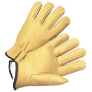 West Chester Glove Size M Leather Palm Gloves,9940KT/M