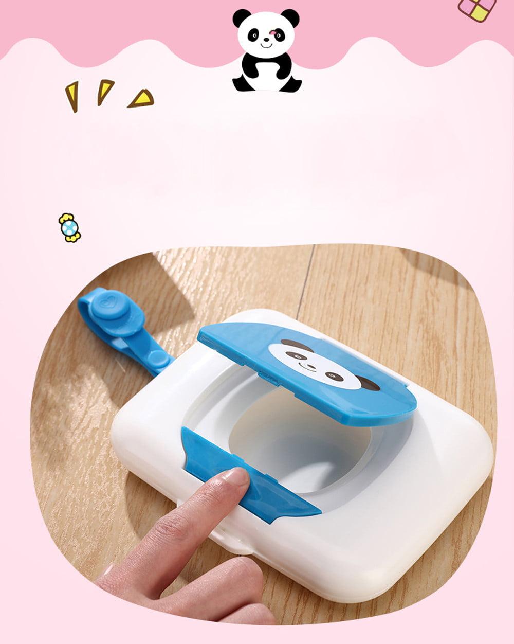 Baby Travel Wipe Case Child Wet Wipes Box Changing Dispenser Storage Holder Gift