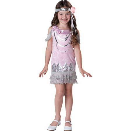 Girls Fancy Flapper Costume - Flapper Girl Hair Tutorial