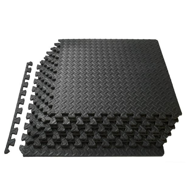 Prosourcefit Puzzle Exercise Mat 1 2 Thick Eva Foam Interlocking Tiles Walmart Com Walmart Com