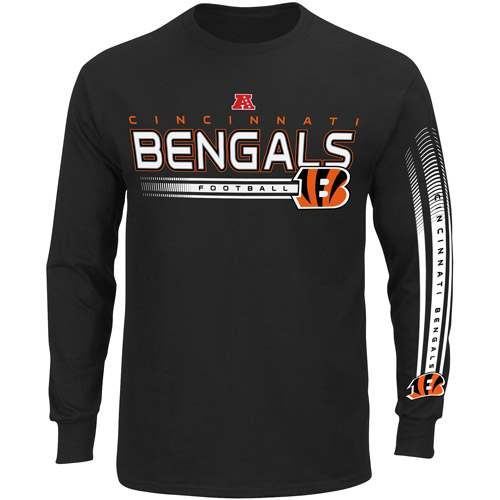 NFL - Big Men's Cincinnati Bengals Long Sleeve Team Tee