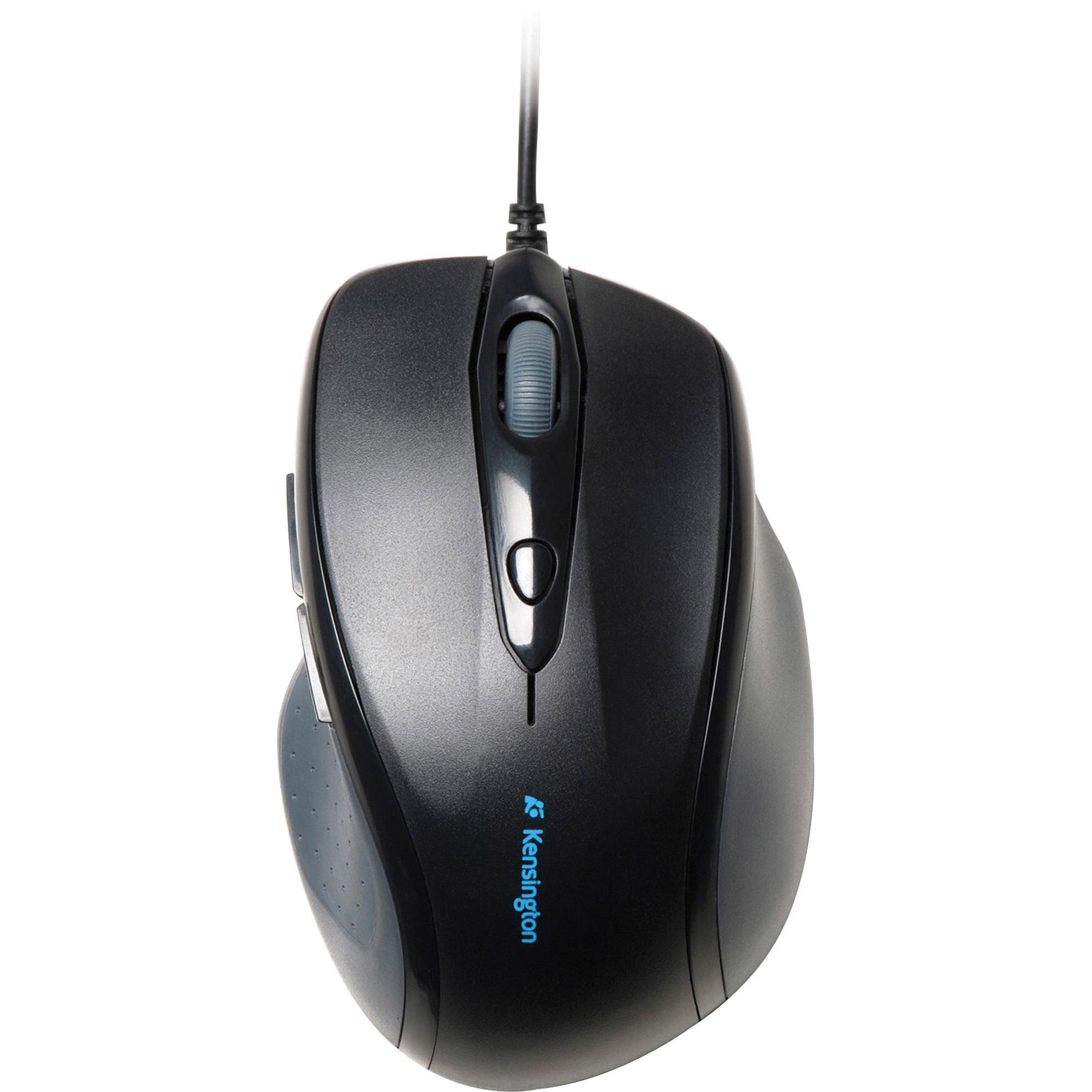 Kensington, KMW72369, Pro-Fit Full-size Wired Mouse, 1, Black