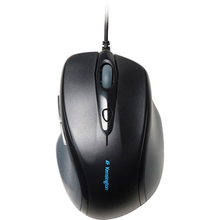 Kensington, KMW72369, Pro-Fit Full-size Wired Mouse, 1, Black