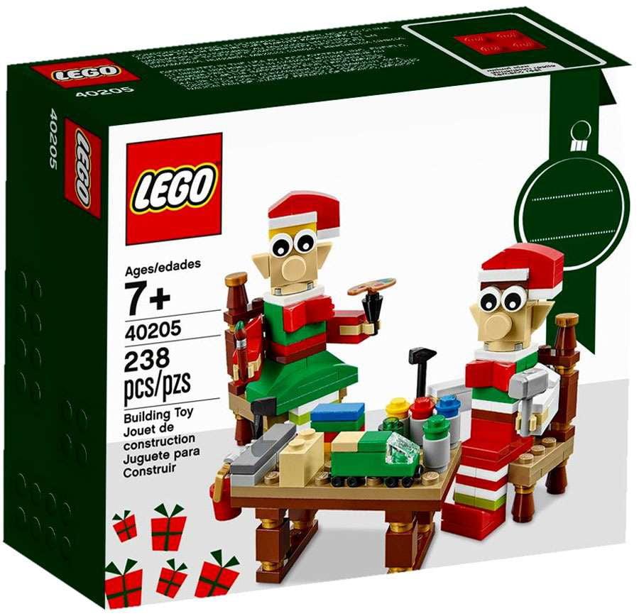 Christmas Elves' Workshop Set LEGO 40205