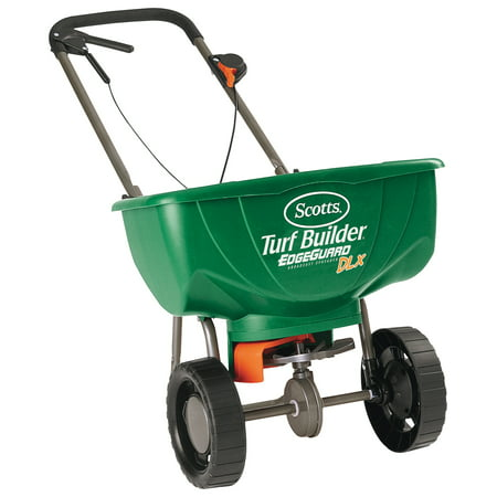 Scotts Turf Builder with Edgeguard DLX Spreader (Best Push Fertilizer Spreader)