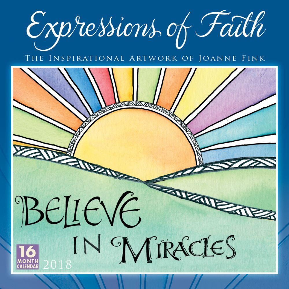 2018 Expressons of Faith Wall Calendar, Christian by Sellers ...