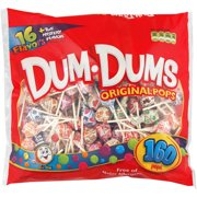 Dum Dums Original Pops, 160 count