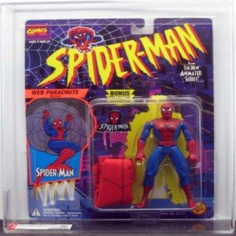 Marvel Spider-Man Animated Series 2 Web Parachute Spider-...