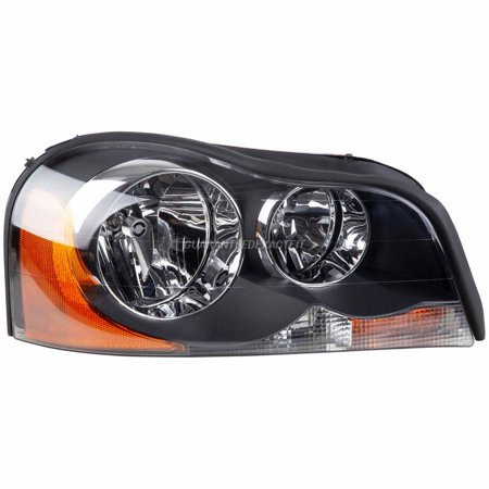 Volvo Headlight - Right Side Headlight Assembly For Volvo XC90 2003 2004 2005 2006 2007 2008