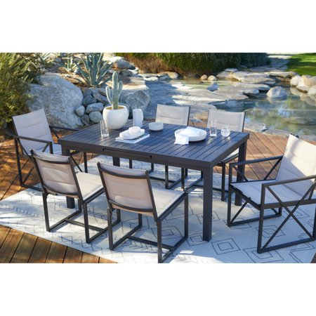 Coral Coast Carano Padded Sling Outdoor Dining Set ()