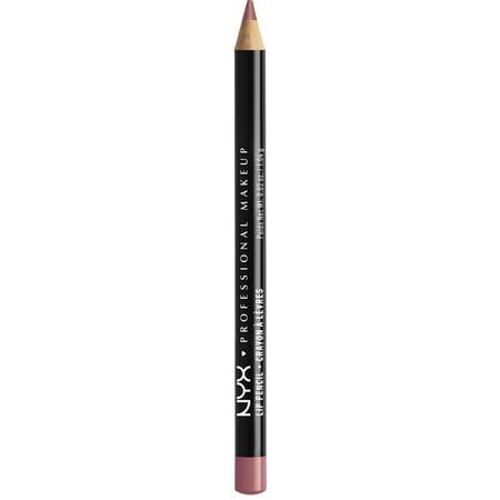 NYX Professional Makeup Slim Lip Liner Pencil, [812] Plum 1 Each - (Pack of 6)