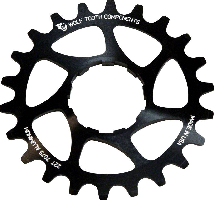 """Wolf Tooth Components Single Speed Aluminum Cog: 20T, Compatible with 3/32"""" chains"""
