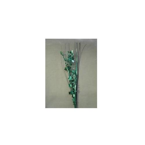 Party Deco 06516 21 inch Hunter Green Stars Spray Bulk - Pack of 13