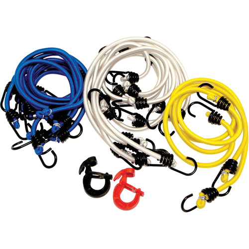 Attwood 18pc Marine Bungee Cord Pack