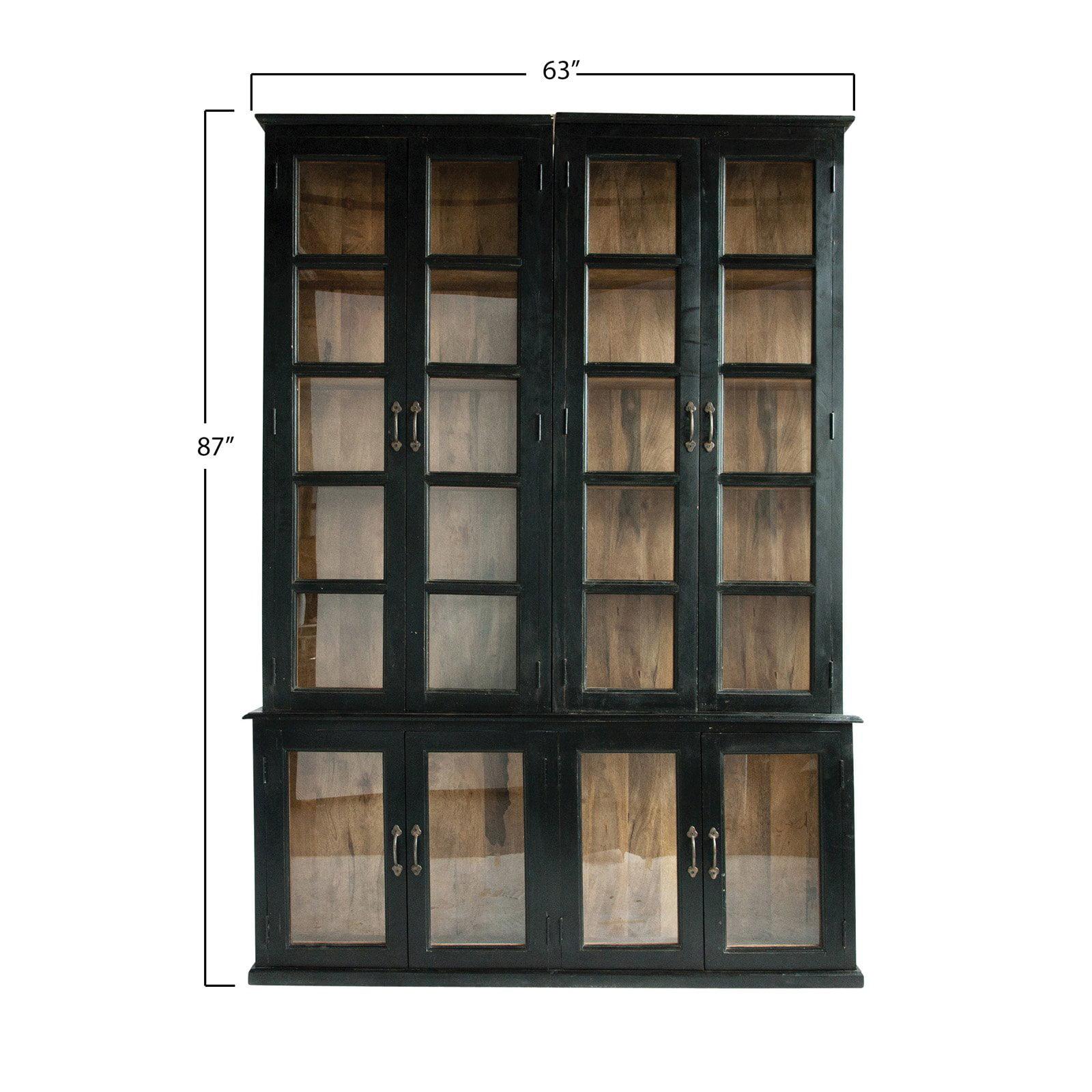 3r Studios 3 Piece Barrister Bookcase
