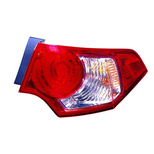 CarLights360: For 2009 2010 ACURA TSX Tail Light Assembly