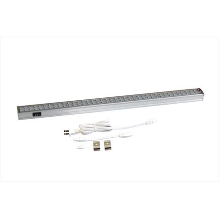 95ef71a6e1897 Radionic Hi Tech ZX515-HL-CW 19 in. Orly Aluminum Under Cabinet LED Light  with Hi/Low Switch - Cool White