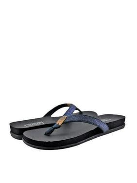 91bac00e0129 Product Image Yellow Box Quast Women s Glitter Toe Thong 37569