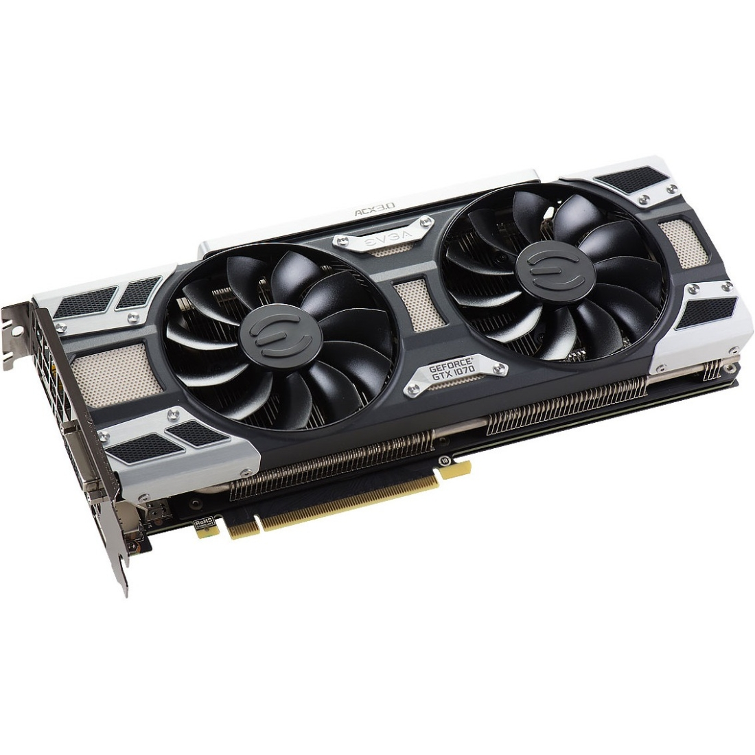 EVGA GeForce GTX 1070 Graphic Card - 1.51 GHz Core - 1.68...