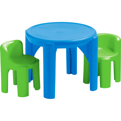 Little Tikes Table and Chair Set Multiple Colors Image 1 of 2  sc 1 st  Walmart.com & Little Tikes Table and Chair Set Multiple Colors - Walmart.com