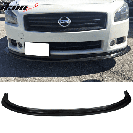Fits 09-15 Nissan Maxima 7th Gen MDA Style Front Bumper Lip Spoiler  -Urethane PU