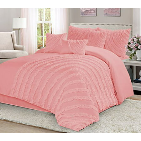 7 Piece Hillary Bed In A Bag Clearance Bedding Comforter