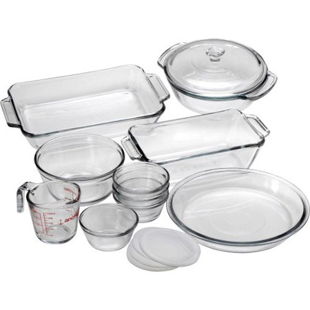 Anchor Hocking 82210OBL11 15 Pc. Bake Set by